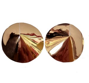 Image of Abeillie Gold mirror Nipple pasties