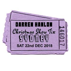 Image of Darren Hanlon - SYDNEY- SATURDAY 22nd DEC - $27