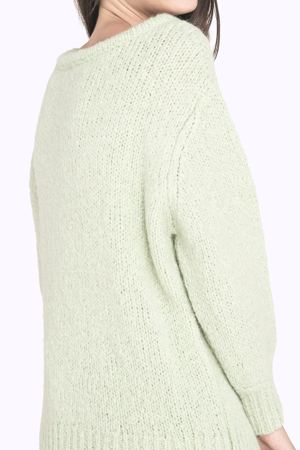 Image of Pull col V maille CLAIRE 135€ -50%