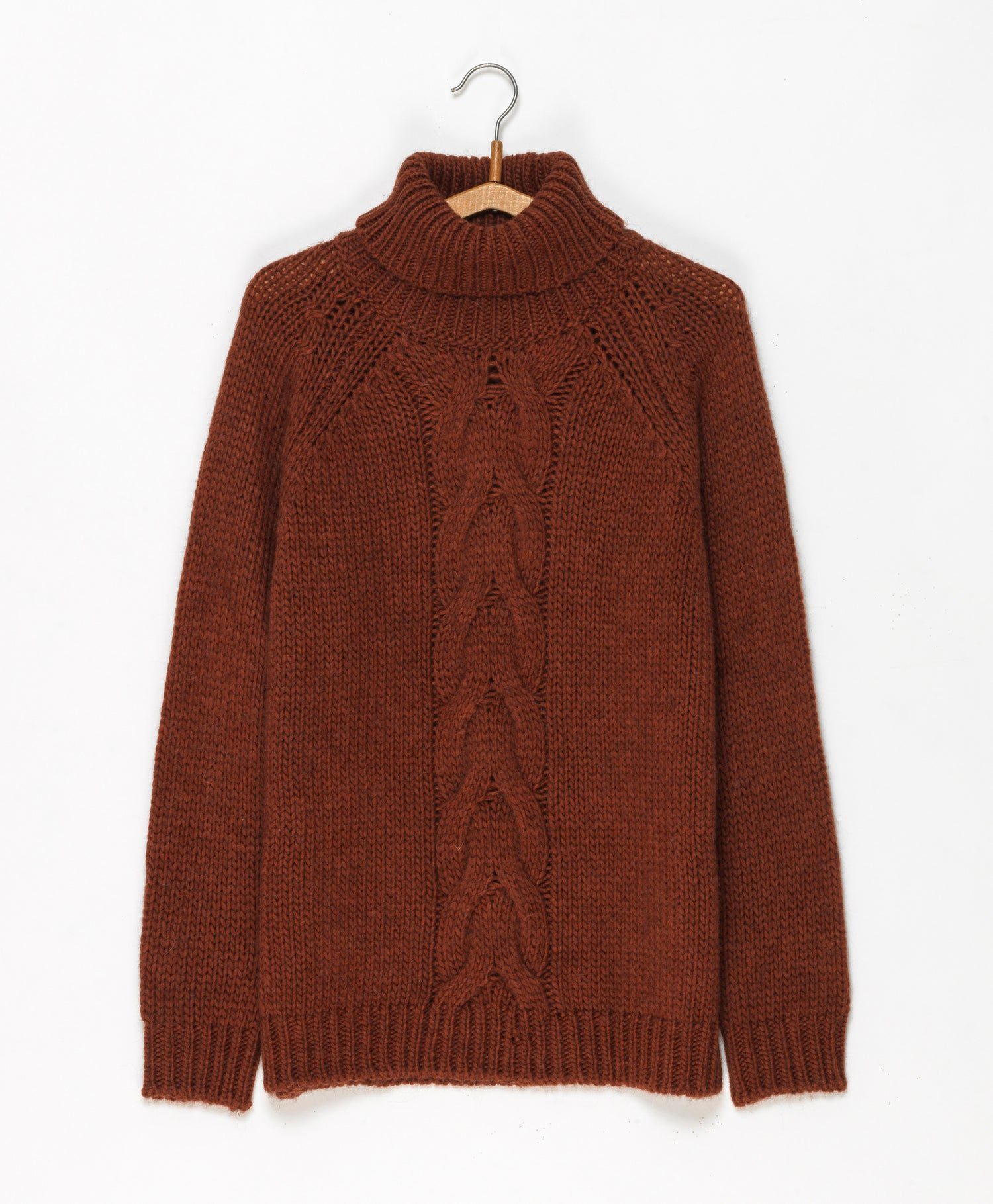 Image of Pull col roulé torsade THELMA 169€ -60%