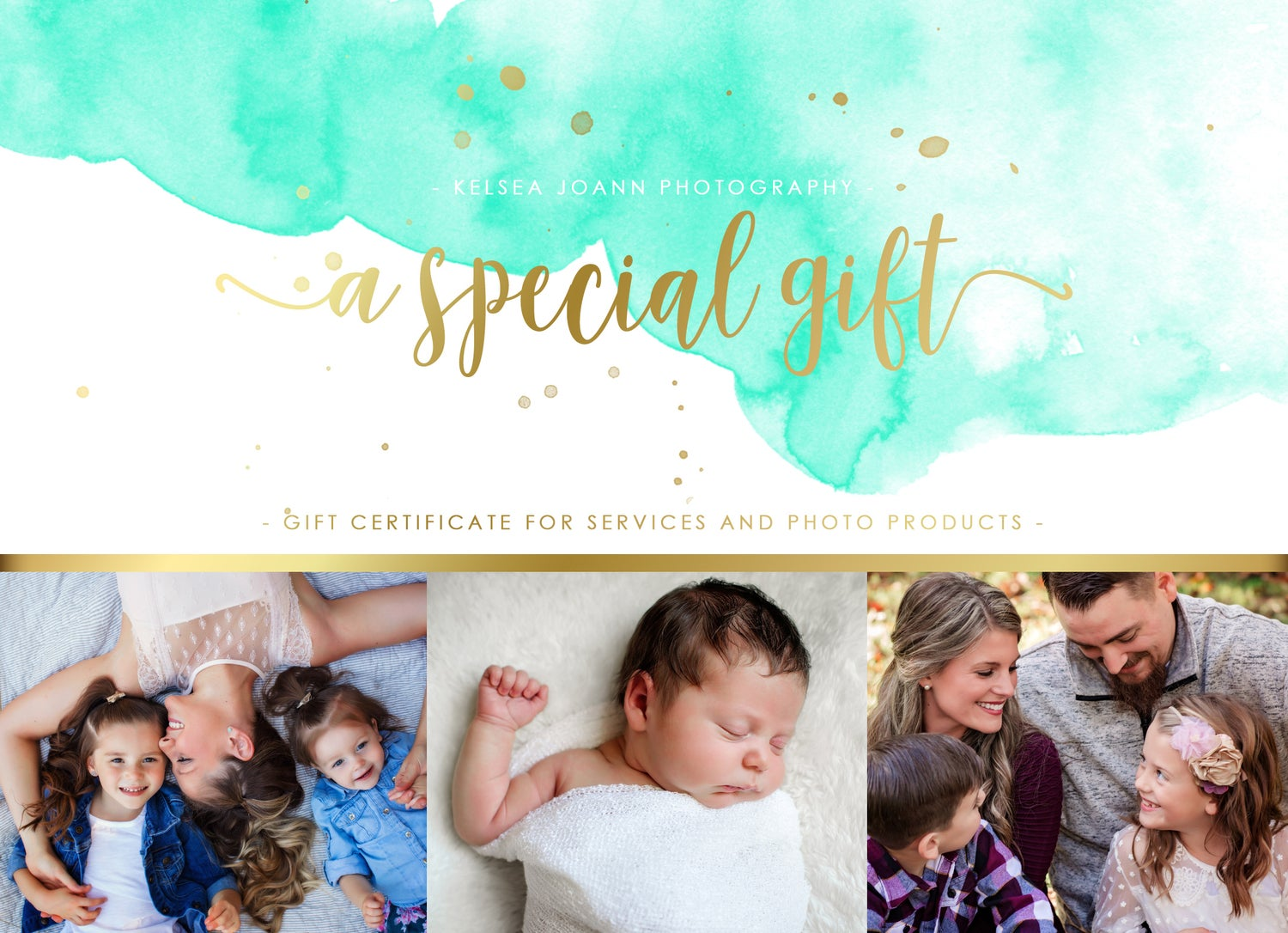 Image of Kelsea Joann Photography Gift Certificate