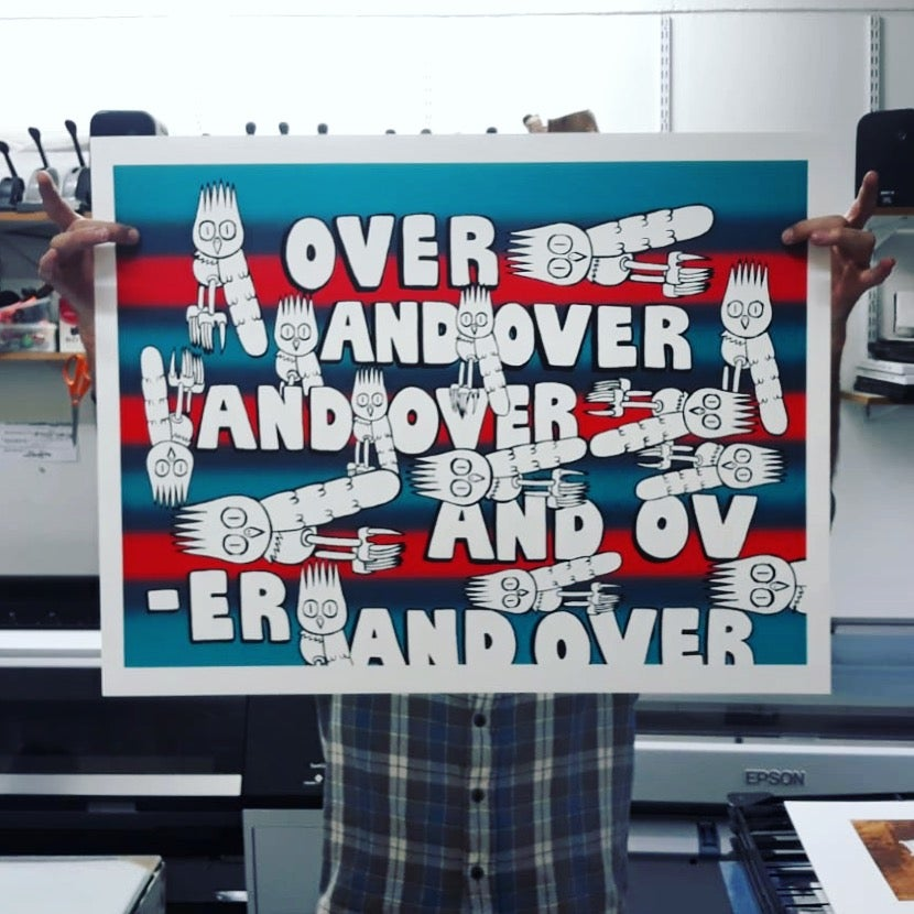 Image of 'Over And Over' by Dscreet