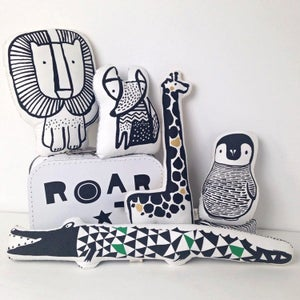 Image of Wee Gallery Nursery Friends Cushions