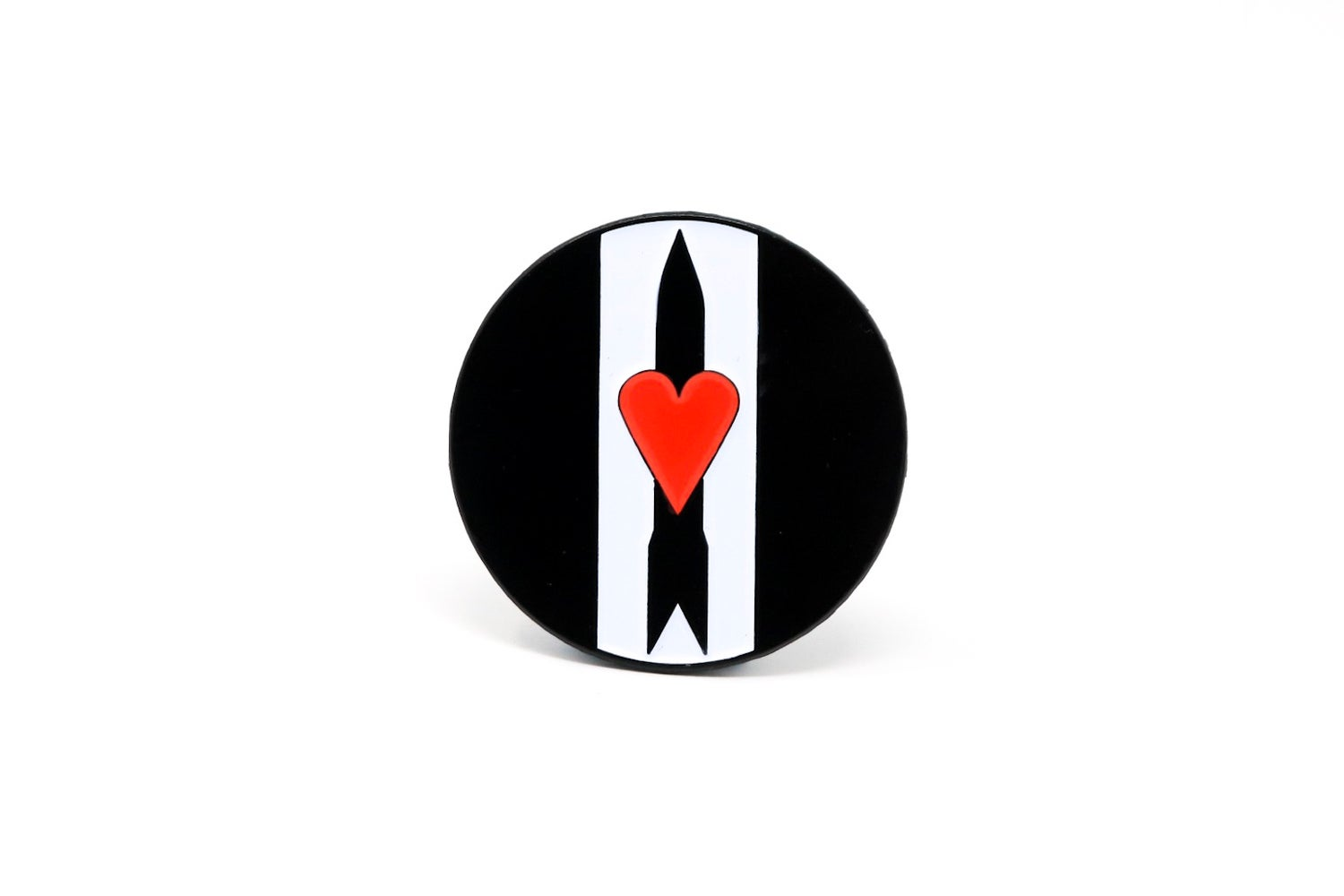 Image of Love and Rockets Enamel Pin