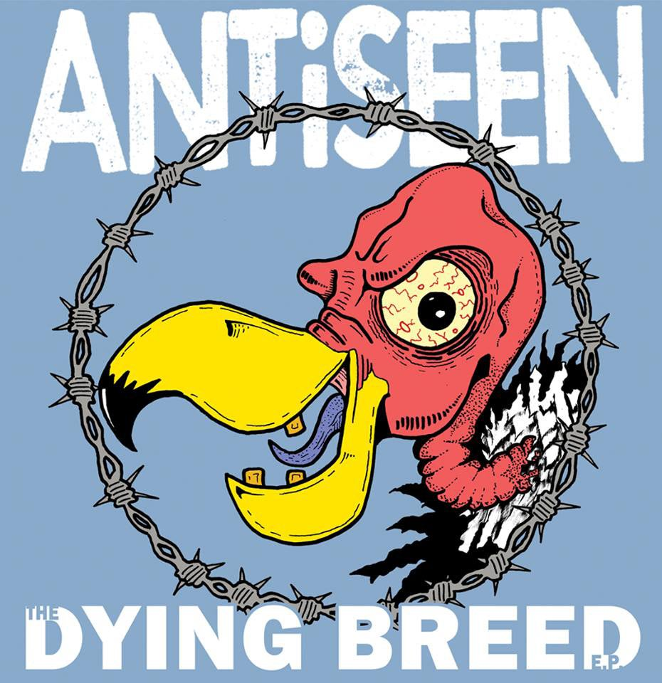 "Image of ANTiSEEN - ""The Dying Breed"" 12"" EP (Color VInyl)"