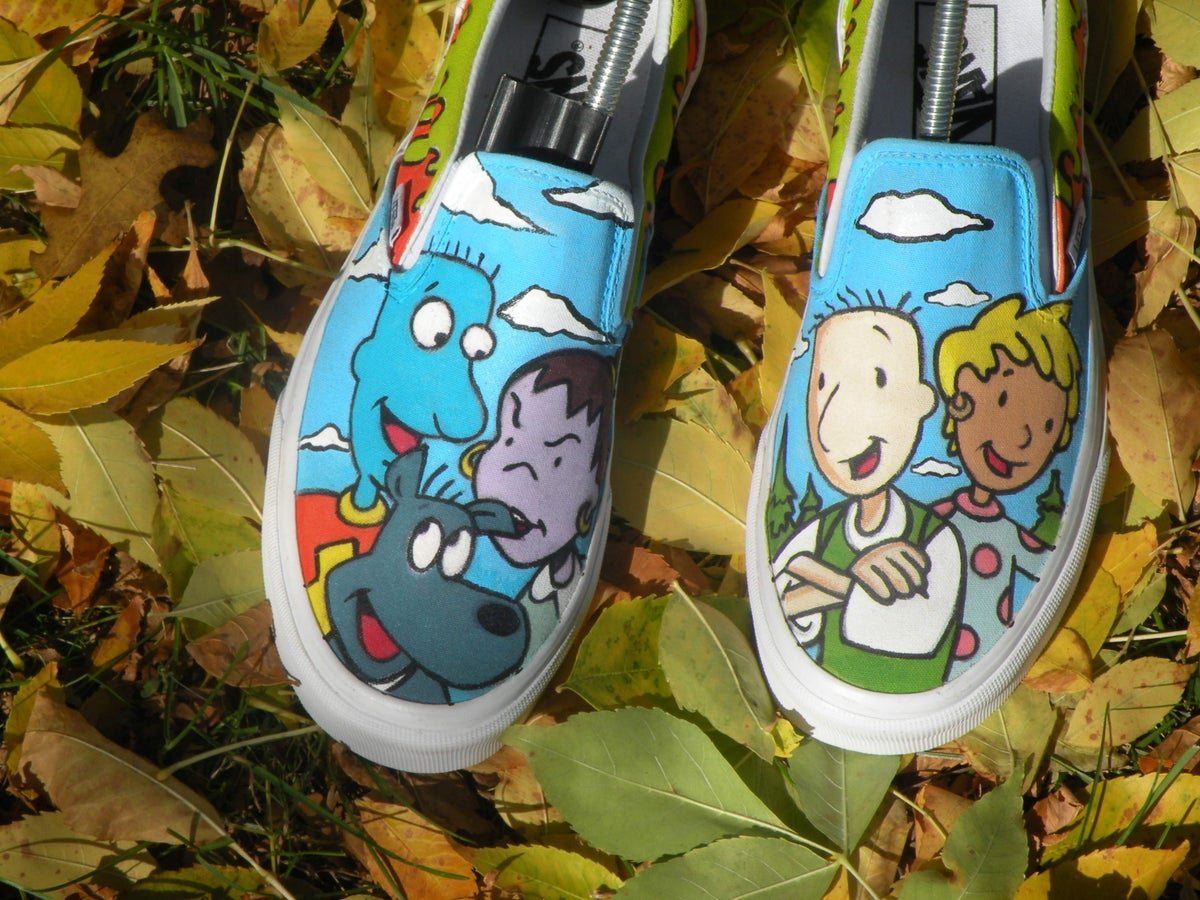 Image of Doug custom Vans slip on 7a42a5a46