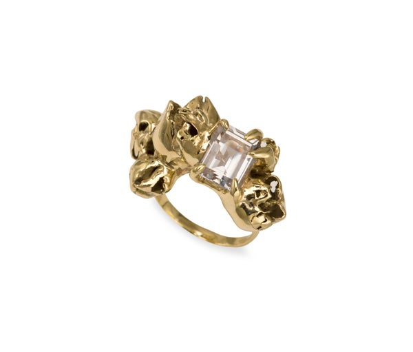 Image of Killiecrankie Diamond Cluster Cocktail Ring