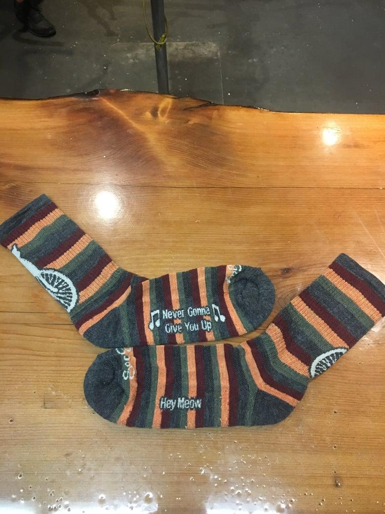Image of Rasta Socks - Stripes
