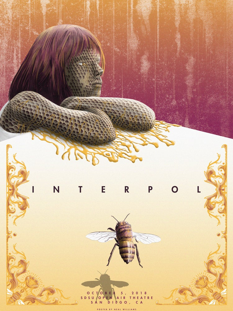 Image of Interpol in San Diego Poster