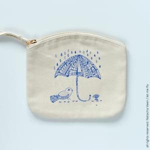 Image of Trousse *Rainy Bird*_Small