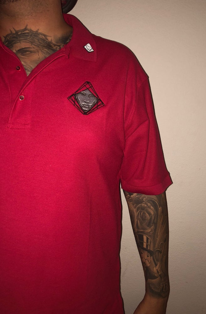 Image of Red Veritas Polo