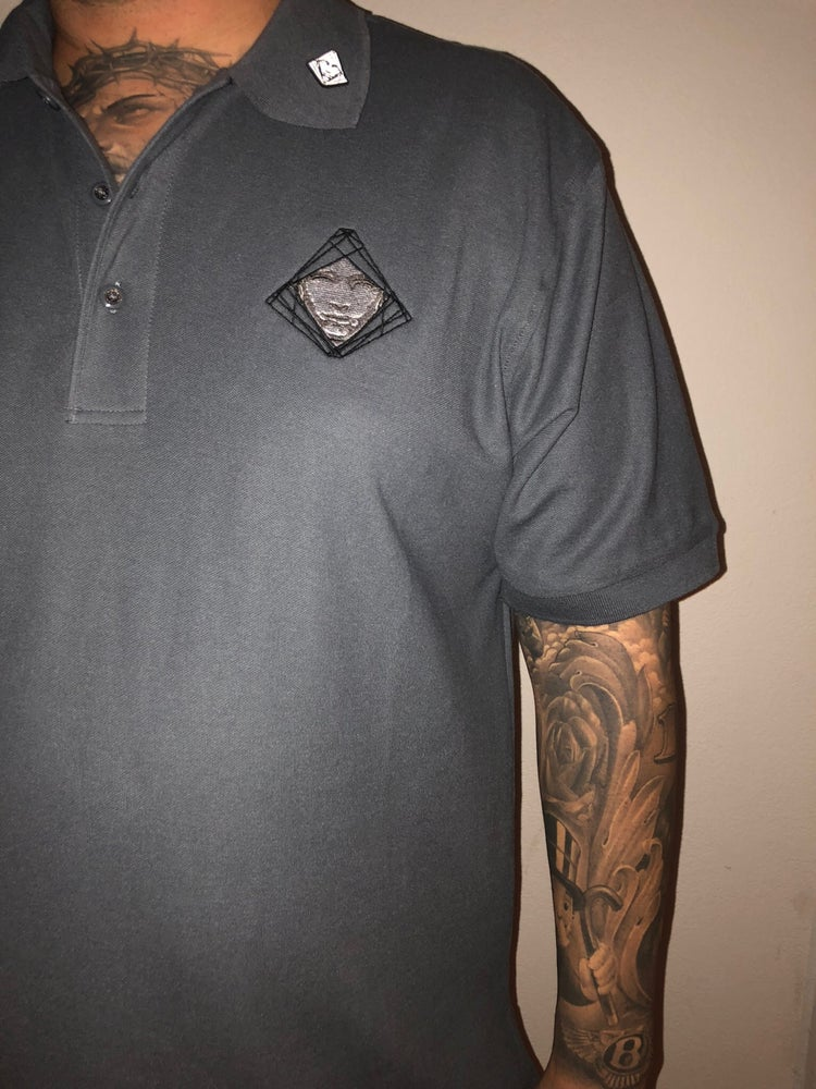 Image of Ash Grey Veritas Polo