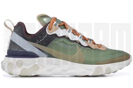 "Image of Nike REACT ELEMENT 87 ""UNDERCOVER - GREEN MIST"""