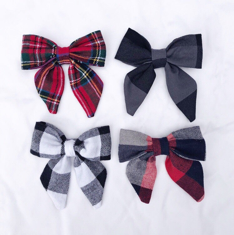 Image of Winter Sailor Bows