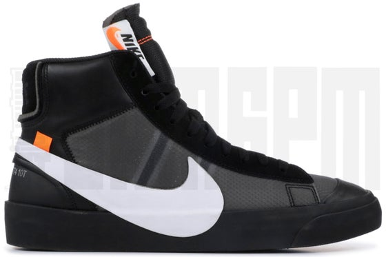 "Image of NIKE BLAZER MID ""OFF-WHITE - GRIM REAPER"""