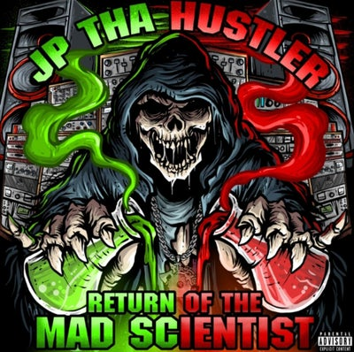 Image of JP Tha Hustler: Return of the Mad Scientist  Cd: Preorders Only