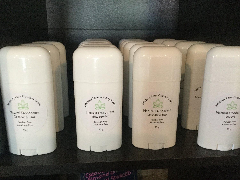 Image of Natural Deodorant