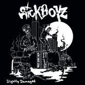 Image of Sickboyz -  Slightly Damaged LP (white vinyl)