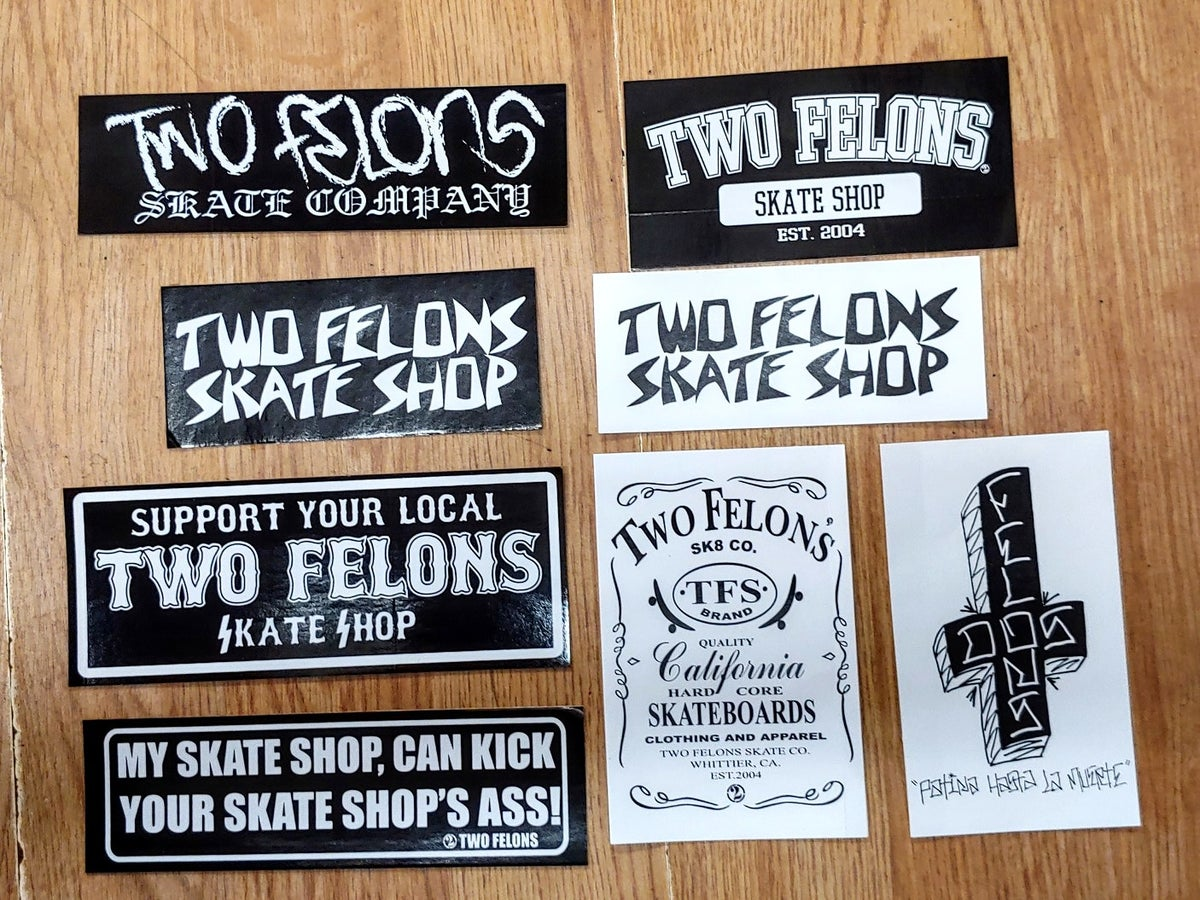 Two Felons Sticker pack