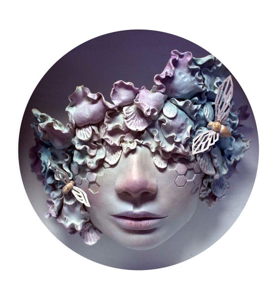 "Image of ""Vanessa"" Round Print"