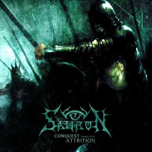 Image of SAURON-Conquest Through Attrition LP