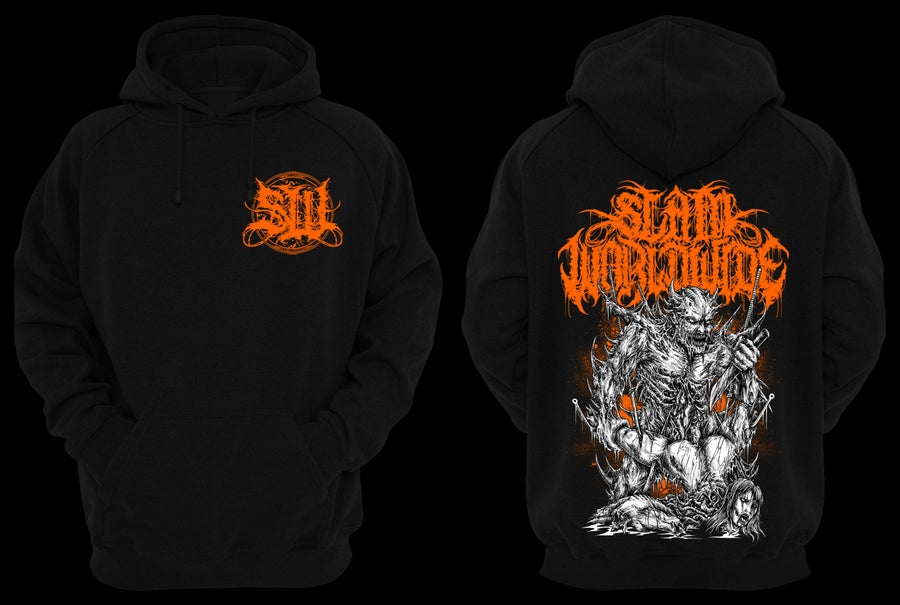 "Image of SLAM WORLDWIDE ""SODOMIZED CADAVER"" HOODIE (PRE-ORDER)"