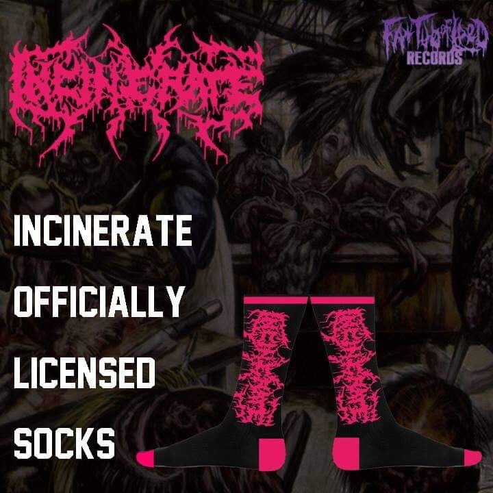 Image of Officially Licensed Incinerate socks!!