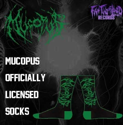 Image of Officially Licensed Mucopus Socks!!!