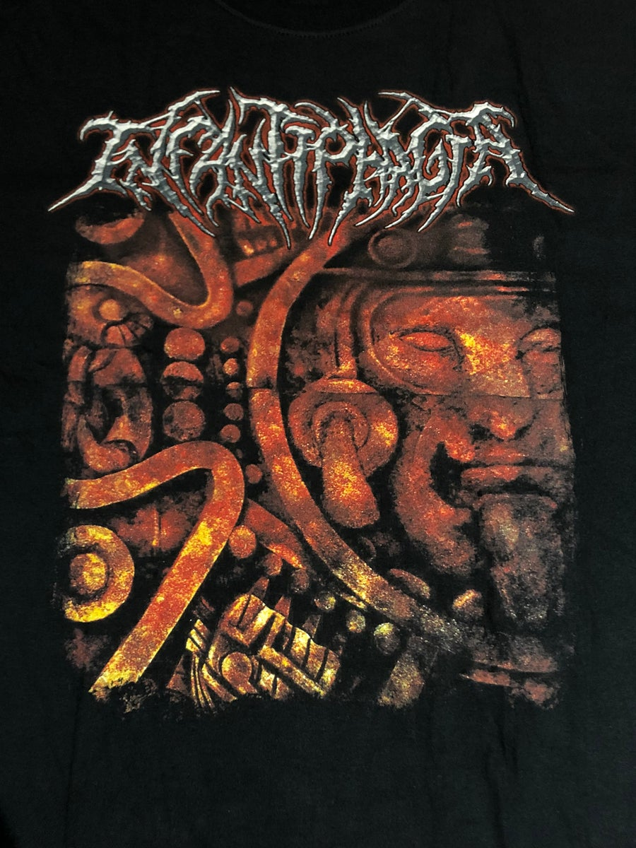 Image of Officially Licensed Infatiphagia Promo cover art short and long sleeves shirts!