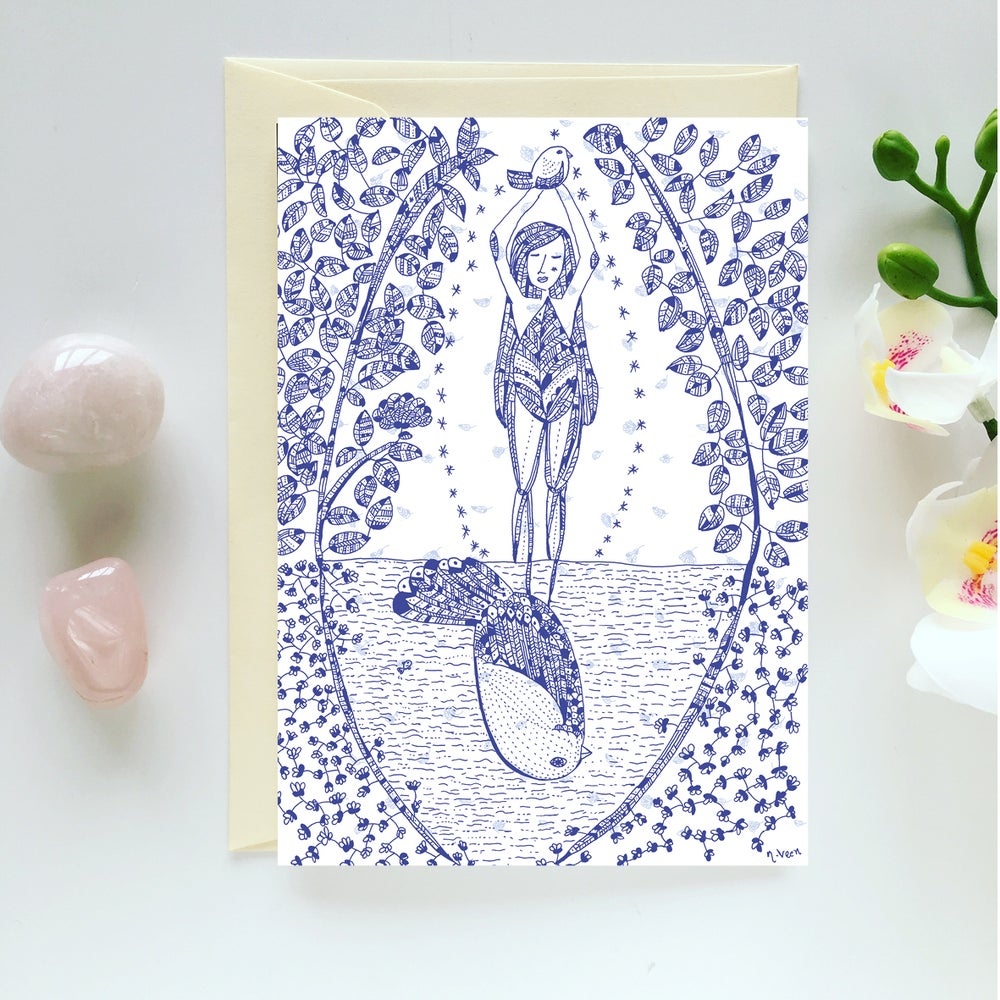 Image of Greeting Card *Reflection*