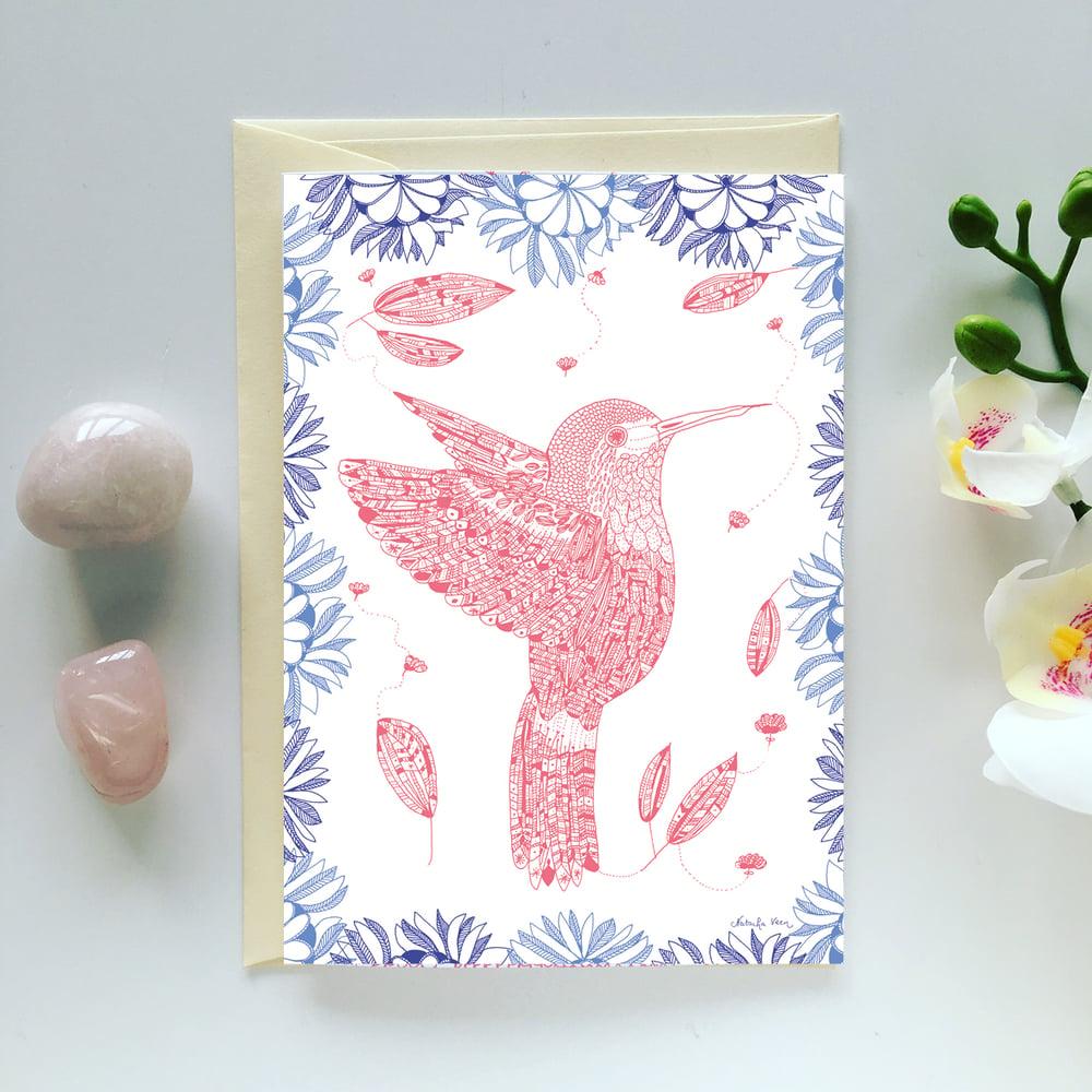 Image of Greeting Card *Colibri*