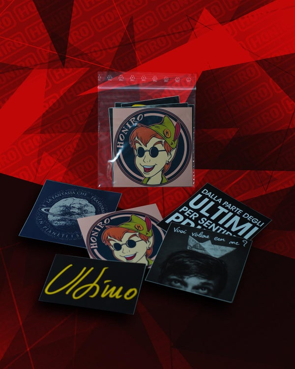 ULTIMO - STICKERS PACK - HONIRO STORE
