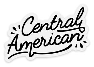 Image of Central American sticker