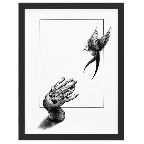 Image of Catching Dreams - A4 / A3 Giclée print