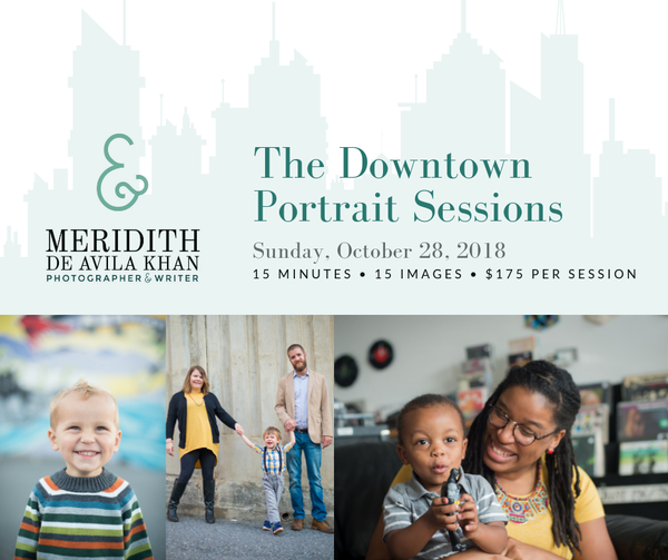 Image of Downtown Portrait Sessions - Fall 2018