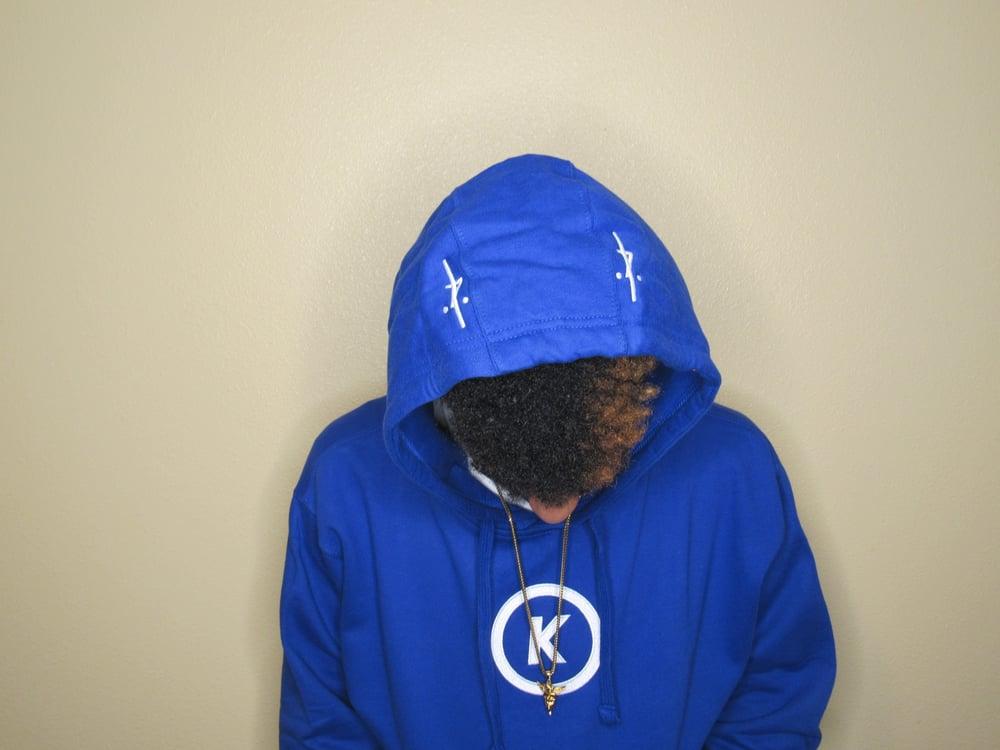 Image of Anniversary Hoodie in Blue