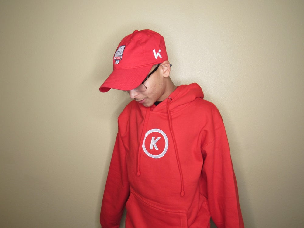 Image of Anniversary Hoodie in Red