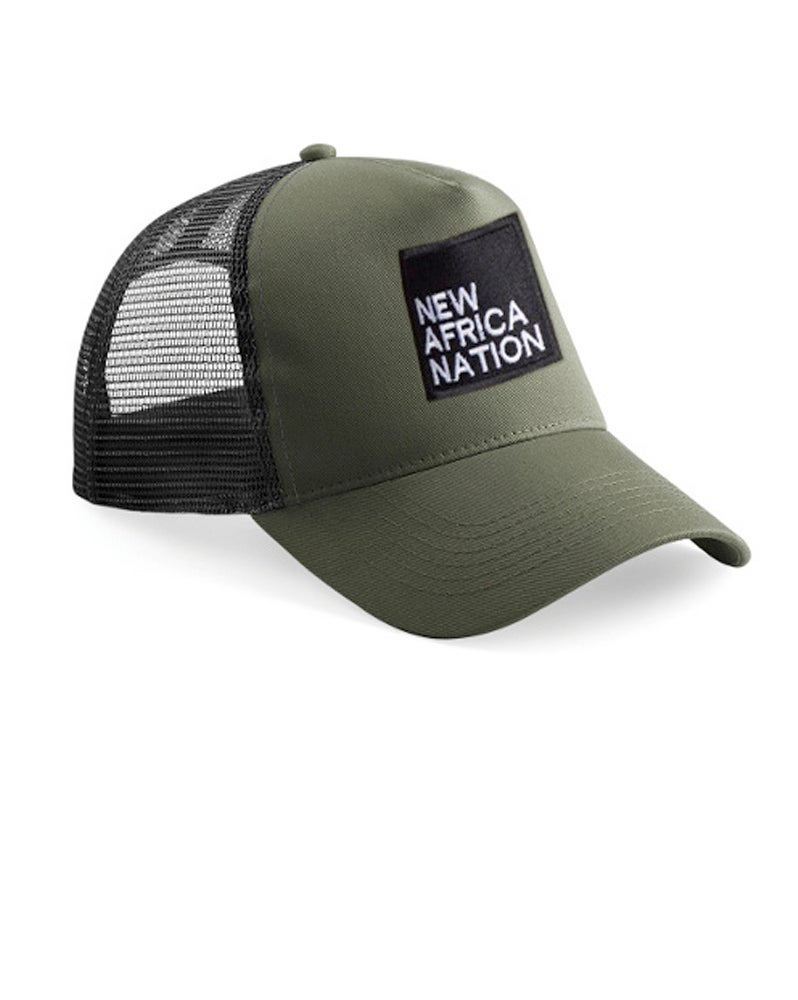 Image of New Africa Nation Cap - Army
