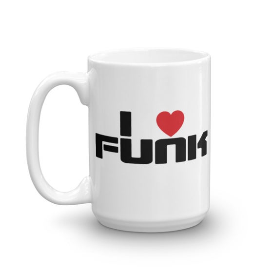Image of I LOVE FUNK COFFEE MUG