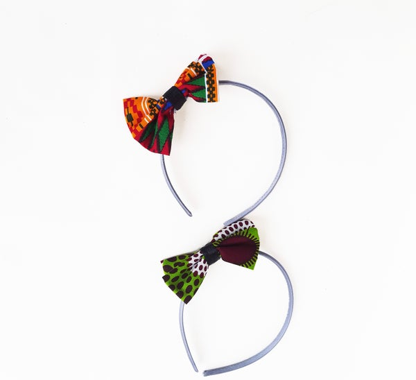 Image of African Print Headband Set X2