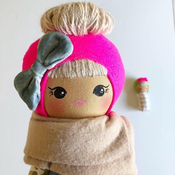 Image of Classic Doll Velvet Blue