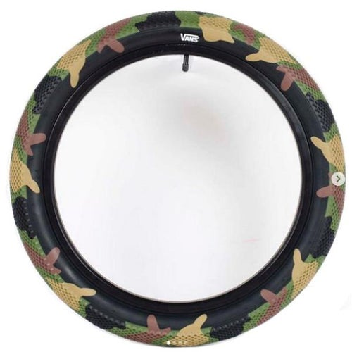 Image of CULT VANS TIRE (CAMO & SEND RESCUE)