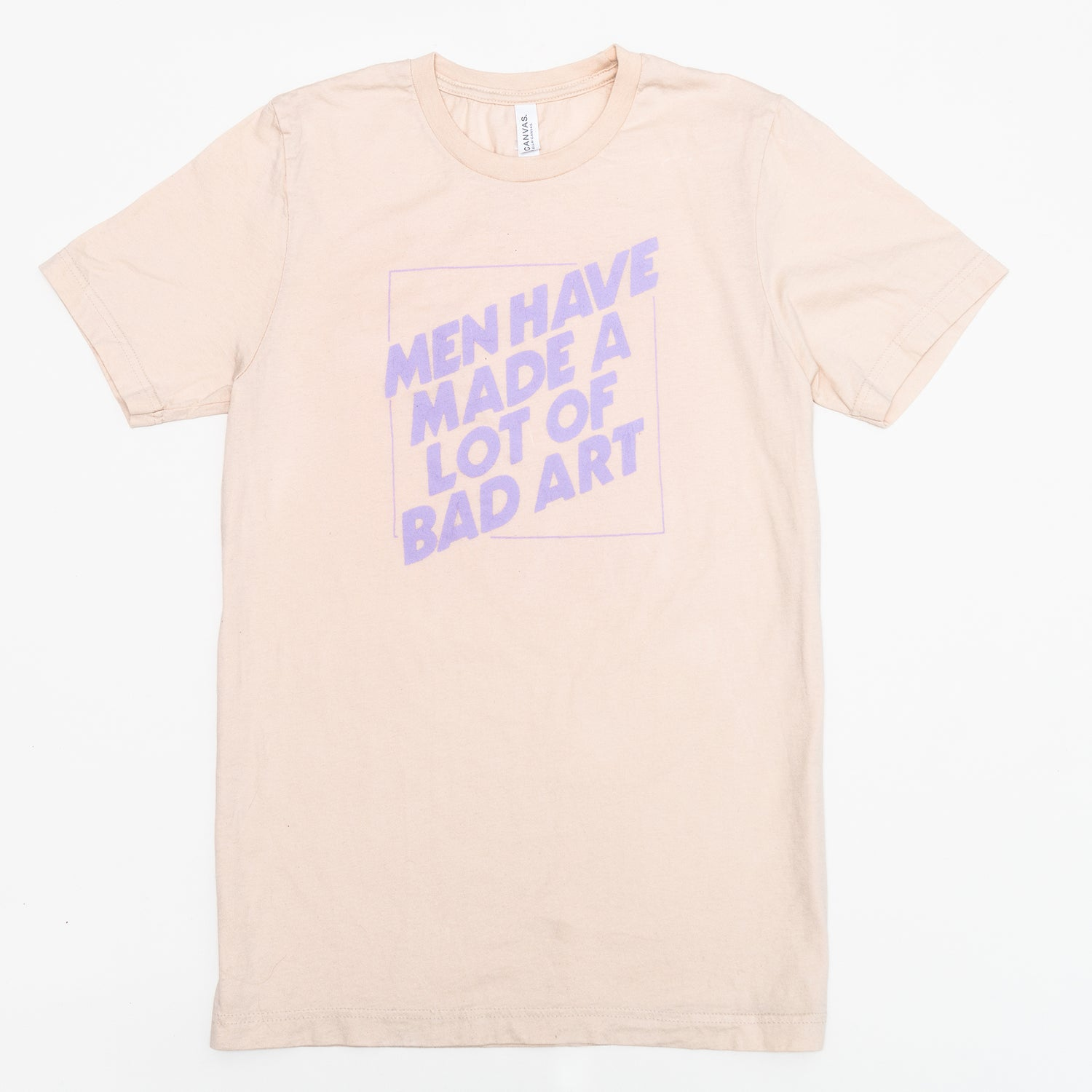 Image of Men Have Made a Lot of Bad Art Tee (Natural)
