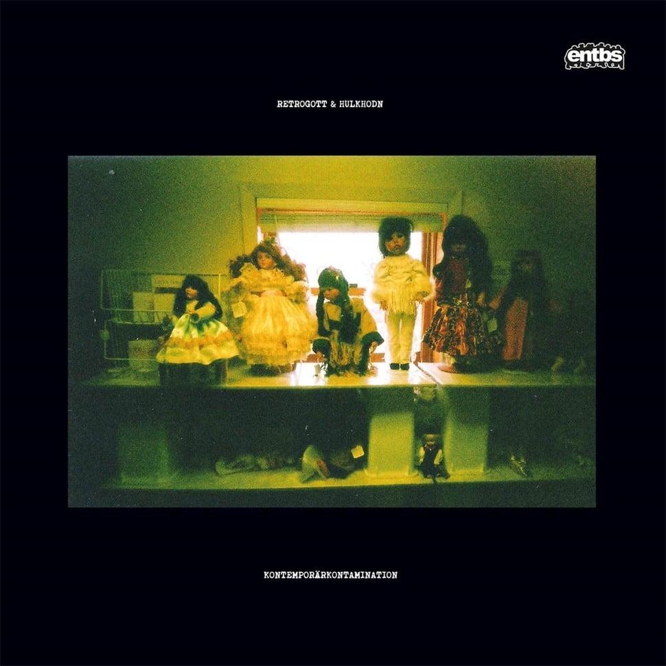 Image of Retrogott & Hulk Hodn - Kontemporärkontamination - LP (ENTBS)