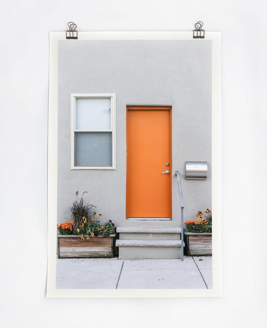 Image of Orange Door