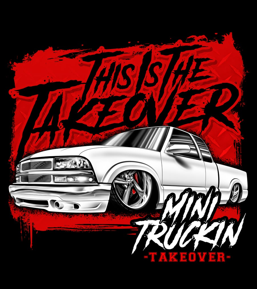 Image of THIS IS THE TAKEOVER TEE