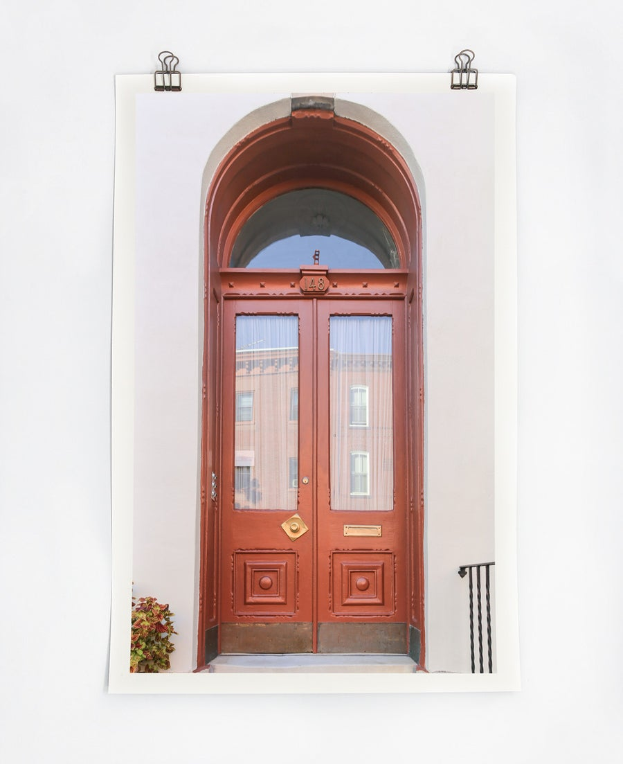 Image of Brown Door
