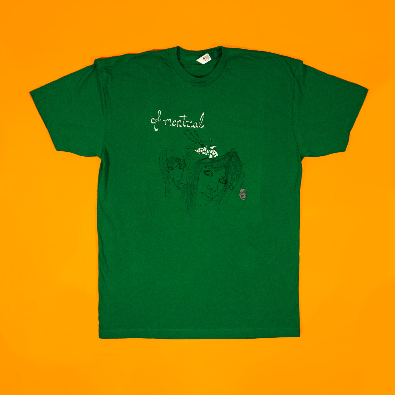 Image of Giraffe T-Shirt (Green)