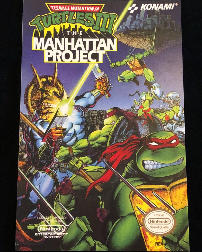 Image of The Manhattan Project Print