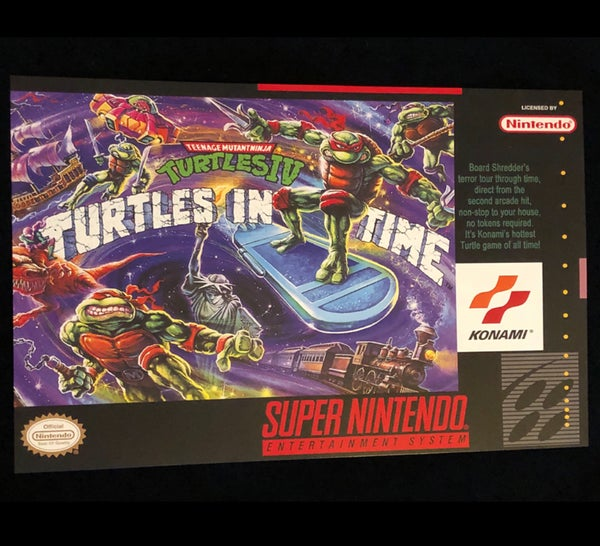 Image of Turtles In Time Print
